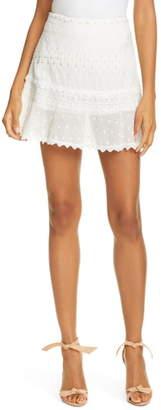 Love Sam Embroidered Miniskirt