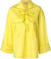 Emilio Pucci oversized laced shirt