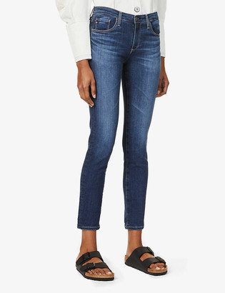 AG Jeans Prima skinny mid-rise stretch-denim jeans