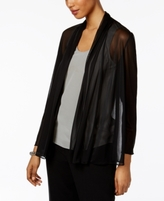 MSK Petite Sparkle Illusion Jacket