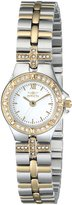 Invicta Women's 0133 Wildflower Collection 18k -Plated and Stainless Steel Watch
