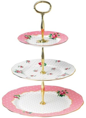 Royal Albert Cheeky Pink 3 Tier Cake