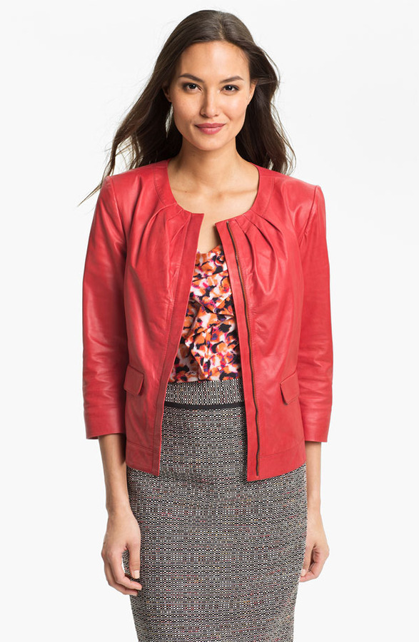 Classiques Entier Lambskin Leather Jacket