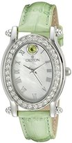 Croton Women's CN207537GNMP Balliamo August Birthstone Analog Display Quartz Green Watch