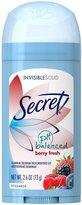 Secret Invisible Solid Women's Antiperspirant & Deodorant - Berry Fresh - 2.6 oz