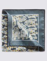 M&s Collection Star Warstm Pure Silk Watercolour Handkerchief