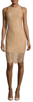 Ava & Aiden Lace Scallop Hem Dress