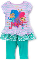 Children's Apparel Network Shimmer & Shine Purple 'Magic' Tunic & Leggings - Toddler