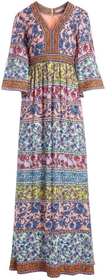 Alice + Olivia Lena Embroidered Kimono Dress
