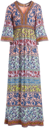 Alice + Olivia Lena Embroidered Kimono Dress