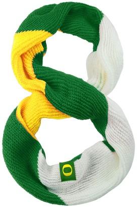 Women's Oregon Ducks Color Block Knit Infinity Scarf