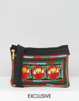 Reclaimed Vintage Embroidered Fanny Pack