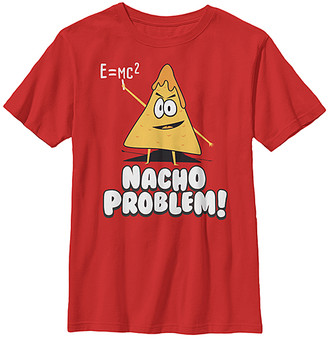 Fifth Sun Boys' Tee Shirts RED - Red 'Nacho Problem' Tee - Boys