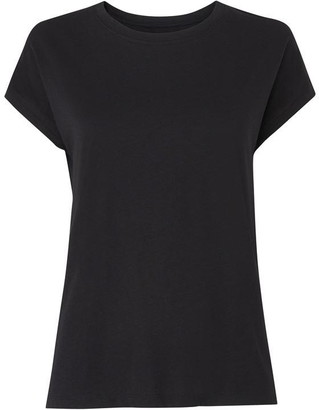 Whistles Minimal Cap Sleeve T-Shirt