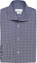Richard James Basket Checked Cotton Shirt