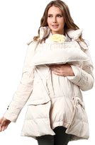 Sweet Mommy 2way Length Down Maternity and Mama Coat with baby wearing pouch BKF