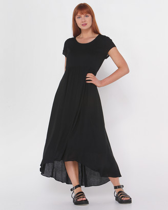 Privilege Women's Black Party Dresses - Midi Length Dress - Size One Size, 8 at The Iconic