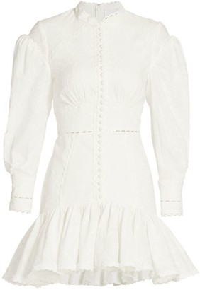 Acler Howard Puff-Sleeve Dress