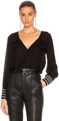 Cinq à Sept Amanda Top in Black | FWRD
