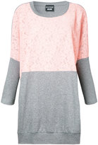 Moschino contrast sweatshirt