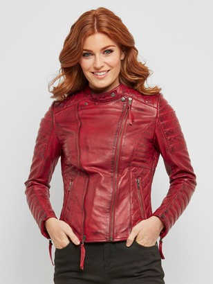 Joe Browns Candid Quilted Leather Jacket