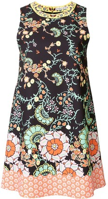 Alice + Olivia Floral-Print Cotton Dress