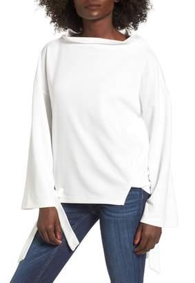 J.o.a. Tie Sleeve Sweatshirt