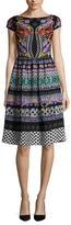Temperley London Marley Print Fit And Flare Dress