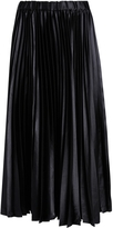 Comme des Garcons Pleated Satin Skirt