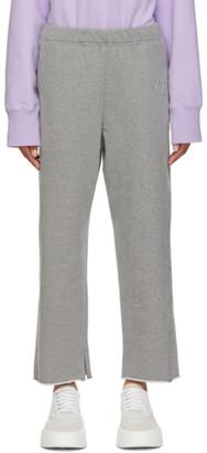 MM6 MAISON MARGIELA Grey Logo Lounge Pants