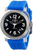 TKO ORLOGI Women's TK558-BBL Milano Junior Acrylic Case Black Dial Watch
