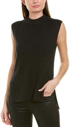 Vince Ribbed Wool & Cashmere-Blend Tunic
