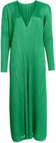 Pleats Please Issey Miyake Monthly Colors Reversible Shift Midi Dress