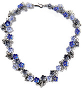 Bottega Veneta Enameled Silver Necklace