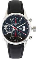 Raymond Weil 7730 Silver-Tone & Black Watch