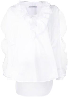 Ermanno Scervino ruffle-trim blouse