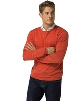 Tommy Hilfiger Cotton Linen Crewneck Sweater