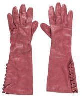 Sportmax Mid-Length Leather Gloves