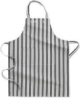 Williams-Sonoma Personalized Stripe Adult Apron, Black