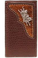 PBR Western Wallet Mens Leather Rodeo Bull Rider 5622002