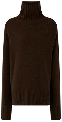 Joseph Cashmere Funnel-Neck Sweater