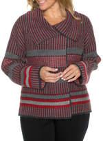NEW Yarra Trail Woman Knit Jacket Red