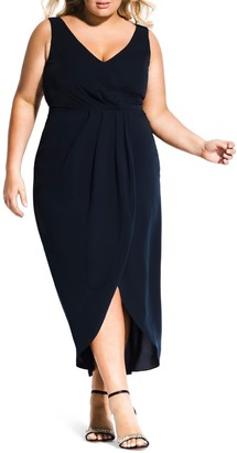 City Chic Cherish Maxi Dress (Plus Size)