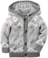 Carter's Baby Boys' Fairisle Print Sweater