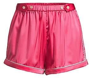 Morgan Lane Women's Silk Pajama Shorts
