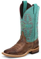 "Justin Boots Women's 11"" Bent Rail Riding Boot"