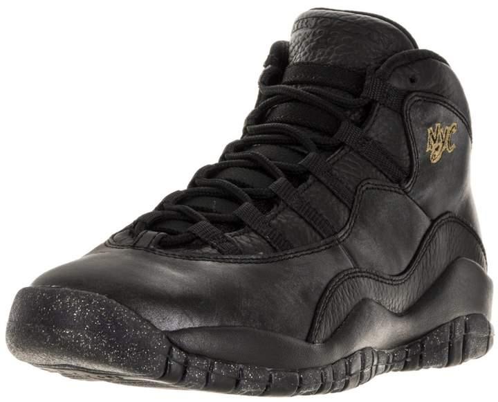 Jordan Nike Kids Air 10 Retro Bg Basketball Shoe 5.5 Kids US