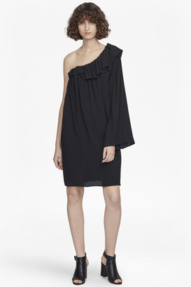French Connection Evening Dew One-Shoulder Dress