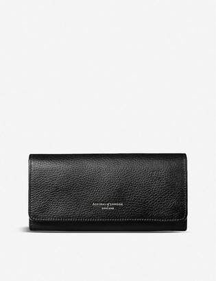 Aspinal of London Lottie pebble leather purse