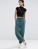 Asos Washed Woven Casual Blouson Pants